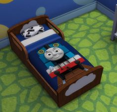 Simsworkshop: Thomas and Friends Toddler Beds by Hagfisher • Sims 4 Downloads
