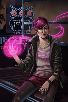 'Fetch from inFAMOUS Second Son' - Elizabeth Beals
