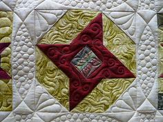 Holiday Star Quilt | This is my quilt. Some blocks were fro… | Flickr - Photo Sharing!