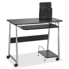 online shopping for Lorell Laminate Computer Desk, Height X Width X Length from top store. See new offer for Lorell Laminate Computer Desk, Height X Width X Length Mobiles, Mobile Computer Desk, Mobile Desk, Portable Desk, Work Station Desk, Adjustable Height Desk, New Interior Design, Wood Desk, Organizing Your Home