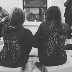 Catch us meditating & holding hands at @mndflmeditation in our Fifty Shades Hoodies ✌️ || #mndfulmeditation