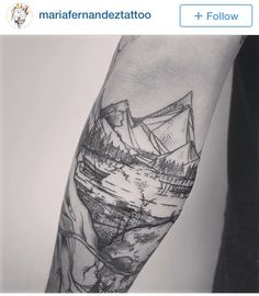 Nw landscape tattoo