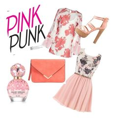 """pink punk"" by bloom1877 ❤ liked on Polyvore featuring Alice McCall, Marc Jacobs and Charlotte Russe"