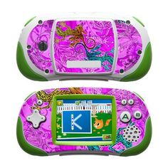 Tiger Lizards Design Protective Decal Skin Sticker for LeapFrog Leapster Explorer Learning Tablet by MyGift. $12.99. The slim-fit design keeps the LeapFrog Leapster Explorer compatible with most cases and accessories. It IS NOT a hard case cover / faceplate.. Unique channeled adhesive used on this skin decal keeps it easy to apply and fully removable while sticky residue after removal.. Covers the front and back of your Learning Tablet while keeping it fully functi...
