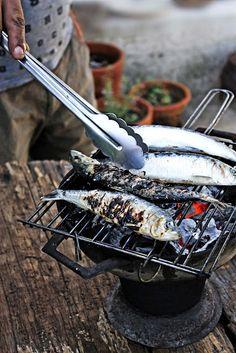 grill it #sardines #bbq #cooking #food