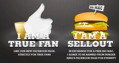 Burger King Norvegia: ti regaliamo un Big Mac, se non sei un vero fan