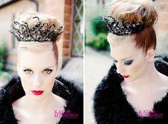 Black Swan / Ballet-Inspired Bridal Fashion Shoot » Katy Lunsford Photography