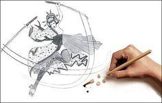 賞.Pencil Art.創意鉛筆素描插畫 » ㄇㄞˋ點子靈感創意誌