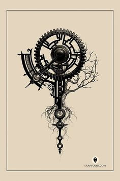Tattoo Tree Of Life Compass - Tattoo Time Tattoos, New Tattoos, Sleeve Tattoos, Tatoos, Time Piece Tattoo, Rosary Tattoos, Bracelet Tattoos, Skull Tattoos, Tattoo Life