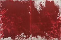 Hermann Nitsch, 1983 Oil on Canvas 78 3/4 x 118 1/4 in 200 x 300 cm - Marc Straus Gallery