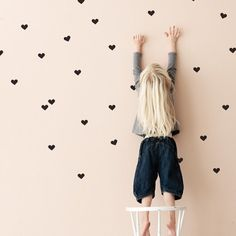 Mini Hearts muursticker - Flinders