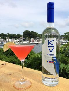 Keel Good Martini made with Newport's own, Keel Vodka! #local