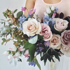Special blooms from a very special day.    #bestfriendflowerday #winnipeg #florist #bouquet #wedding #flowers #art (at Winnipeg, Manitoba)