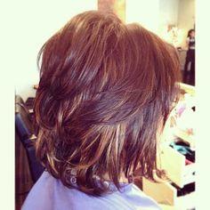 9.Layered Bob Hairstyle