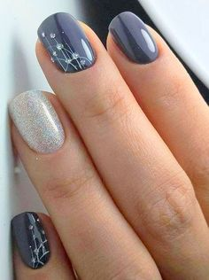 Nail art is a very popular trend these days and every woman you meet seems to have beautiful nails. It used to be that women would just go get a manicure or pedicure to get their nails trimmed and shaped with just a few coats of plain nail polish. Bridal Nail Art, Wedding Nails Art, Winter Wedding Nails, Spring Wedding, Bridal Toe Nails, Bridal Shower Nails, Bridal Pedicure, Wedding Nails Design, Bridal Makeup