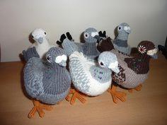 Ravelry: knittingpidge's Pet pigeons from madmonkeyknits pattern here:  http://www.ravelry.com/patterns/library/my-pet-pigeons