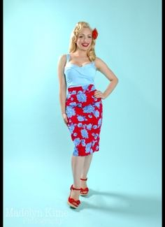 Pinup Couture Pencil Skirt