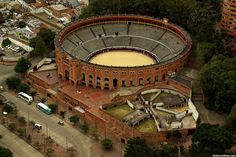antigua plaza de #toros #Bogota