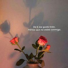 Postales de Amor para Enviar  #vwhatsapp #amor #frases Tumblr Quotes, Sad Quotes, Love Quotes, Romantic Memes, Tumblr Love, Love Phrases, Sad Love, Love Memes, Spanish Quotes