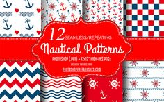 seamless-nautical-patterns