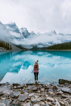 travel destinations canada Top 6 Must See Canadian Rockies Lakes Moraine Lake - Renee Roaming Moraine Lake, Lake Moraine Canada, Parc National, National Parks, Banff National Park, Best Places To Travel, Places To Visit, Canada Destinations, Visit Canada