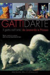 Il gatto nell'arte, da Leonardo a Picasso