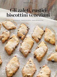 Gli Zaleti - Venetian cookies :-) #Yamadu for a real taste of Italy :-)