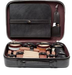 Berluti | Shoe Care Kit with Leather Case | AUD $1,859.00