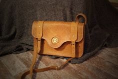 vintage men leather bag by SteampunkMasks on Etsy