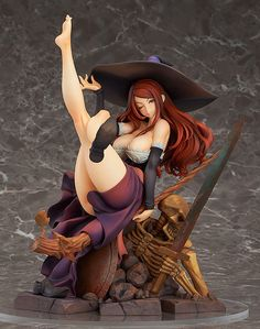 Dragon's Crown Sorceress 1/7 Scale PVC Figure Max Factory Sealed US Seller