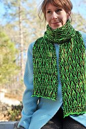 Gyre and Gimble, pattern by Barbara Benson. Knit Edge Magazine, Issue Five, knitedgemag.com