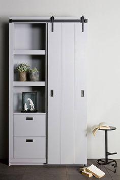 Tall Cabinet Storage, Locker Storage, Cosy Sofa, Pine Cabinets, Wardrobe Cabinets, Interior Concept, Wardrobe Design, Layout Design, Industrielt Design