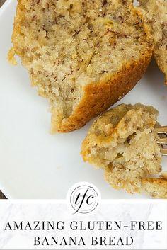 Amazing Gluten-Free Banana Bread Recipe | Homemade Banana Bread Recipe |