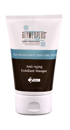 Glymed Plus Age Management Anti-Aging Exfoliant Masque soothes and softens while removing dead skin cells and renews the skin for a healthier complexion