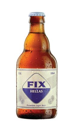 Fix Hellas Beer Original Bottle