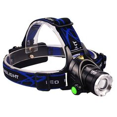 Mifine Waterproof LED Headlamp with Zoomable 3 modes 1000 Lumens light, hands-free headlight with Rechargeable batteries for biking camping hunting running rainy weather >>> For more information, visit image link.