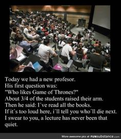 This professor has your number.