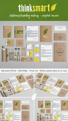We are very pleased to present our Branding / Identity Mock-Up, which puts the focus on recycled paper.    http://graphicriver.net/item/branding-identity-mockup-recycled-version/4776422