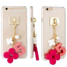DiDi Acrylic Key Ring Case iPhone 6 Case iPhone 6 Plus Case 4 Types Clear Case #DiDi