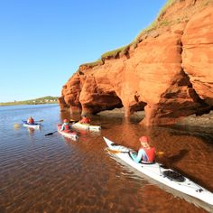 During your stay at the Iles de la Madeleine, also known as Magdalen Islands, enjoy exquisite seafood, wind sports, sea excursions and much more. Visit Canada, O Canada, Canada Trip, Voyage Montreal, Travel Around The World, Around The Worlds, Discover Canada, Canadian Travel, Canoe And Kayak