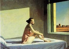 Morning Sun by Edward Hopper