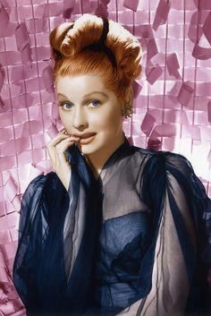 """fawnvelveteen: """"Lucille Ball, 1940s """""""