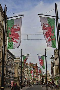 St Mary Street, Cardiff   by Mooganic