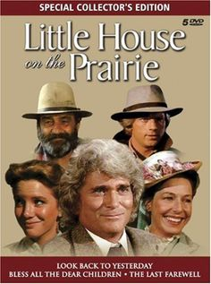 Little House on the Prairie - Special Edition Movie Boxed Set (Look Back to Yesterday / Bless All the Dear Children / The Last Farewell) LIONS GATE HOME ENT. http://smile.amazon.com/dp/B000GIXCFQ/ref=cm_sw_r_pi_dp_Brd4ub0VHQGY7