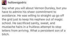 Vernon dursley, Harry Potter, hp