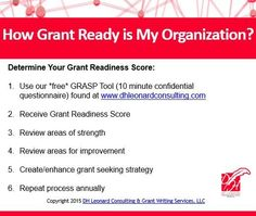 The GRASP Tool is a free grant readiness assessment to help nonprofit organizations assess and measure their organization's grant readiness. Free Grants, Foundant, Grant Writing, How To Measure Yourself, Non Profit, Cancer Awareness, Assessment, Fundraising, Landing