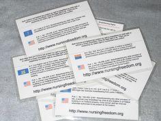 breast feeding law cards