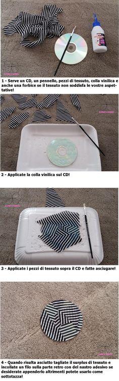 Riciclo cd che non usiamo più