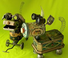QUIRK & FANCY - ROBOT DOGS - Reclaim2Fame by Reclaim2Fame, via Flickr