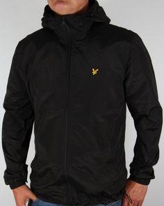 efcb8dc5 Lyle And Scott Zip Through Hooded Jacket Black Кэжуал Наряды, Повседневная  Одежда, Мужская Мода